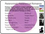 paranormal paranormal romance