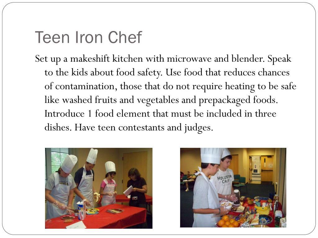 Teen Iron Chef