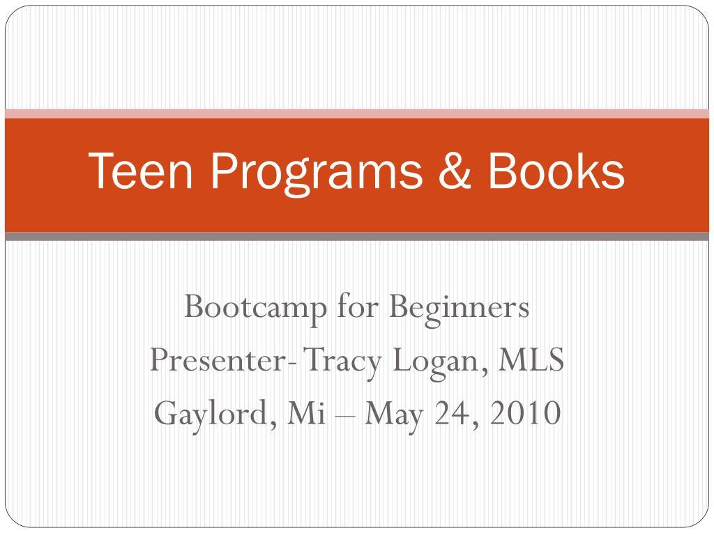 teen programs books l.