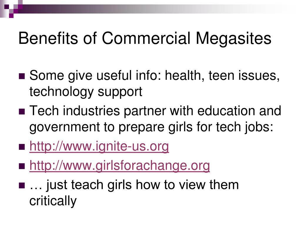 Benefits of Commercial Megasites