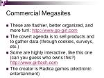 commercial megasites