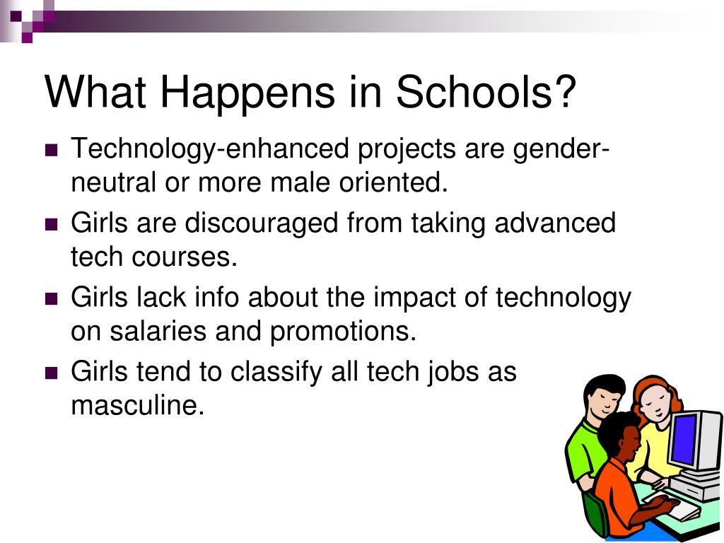 What Happens in Schools?