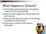 what happens in schools