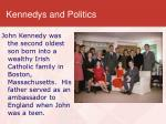 kennedys and politics