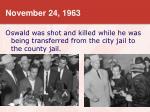 november 24 1963