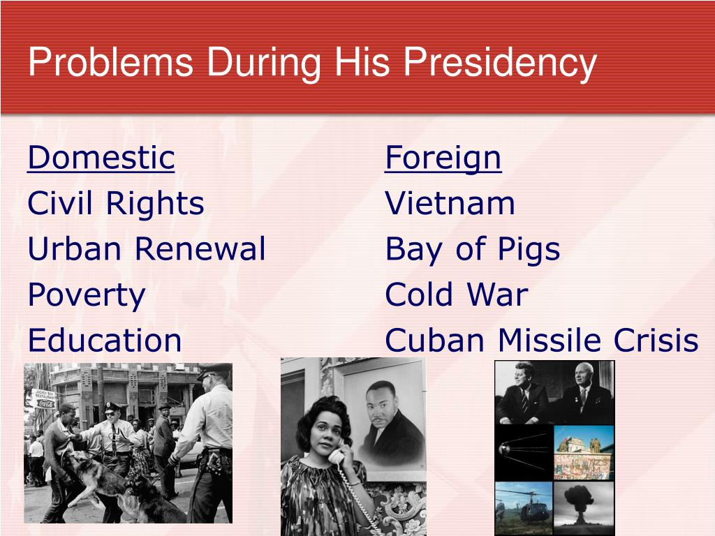Problems During His Presidency