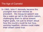 the age of camelot