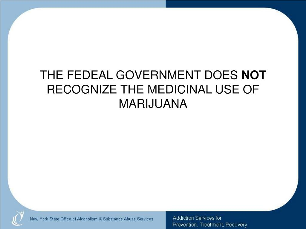 THE FEDEAL GOVERNMENT DOES