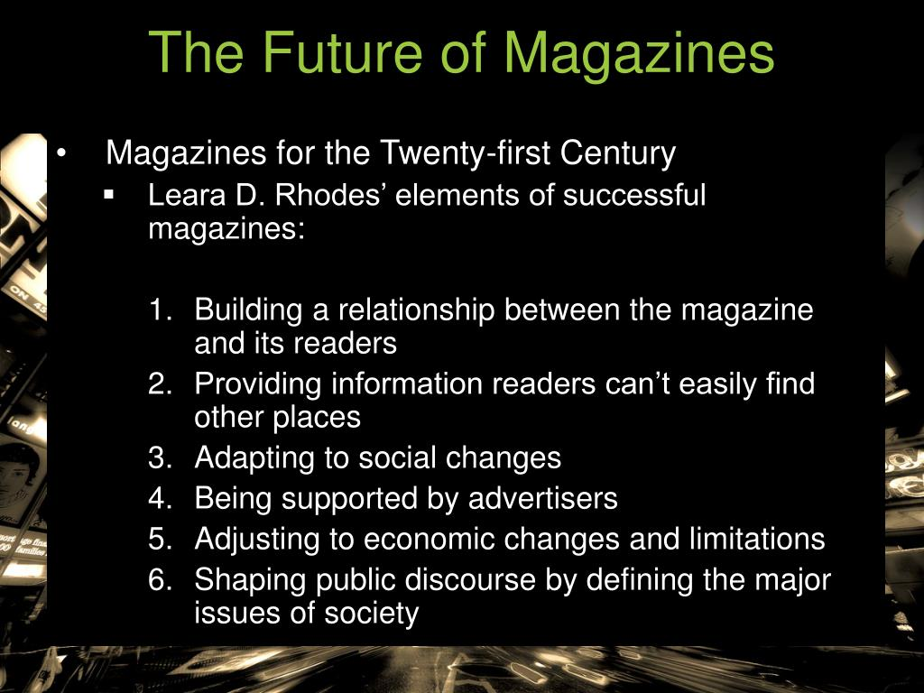The Future of Magazines