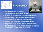 plyometrics