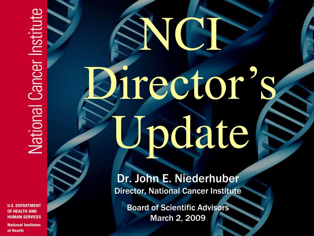 n ci director s update l.
