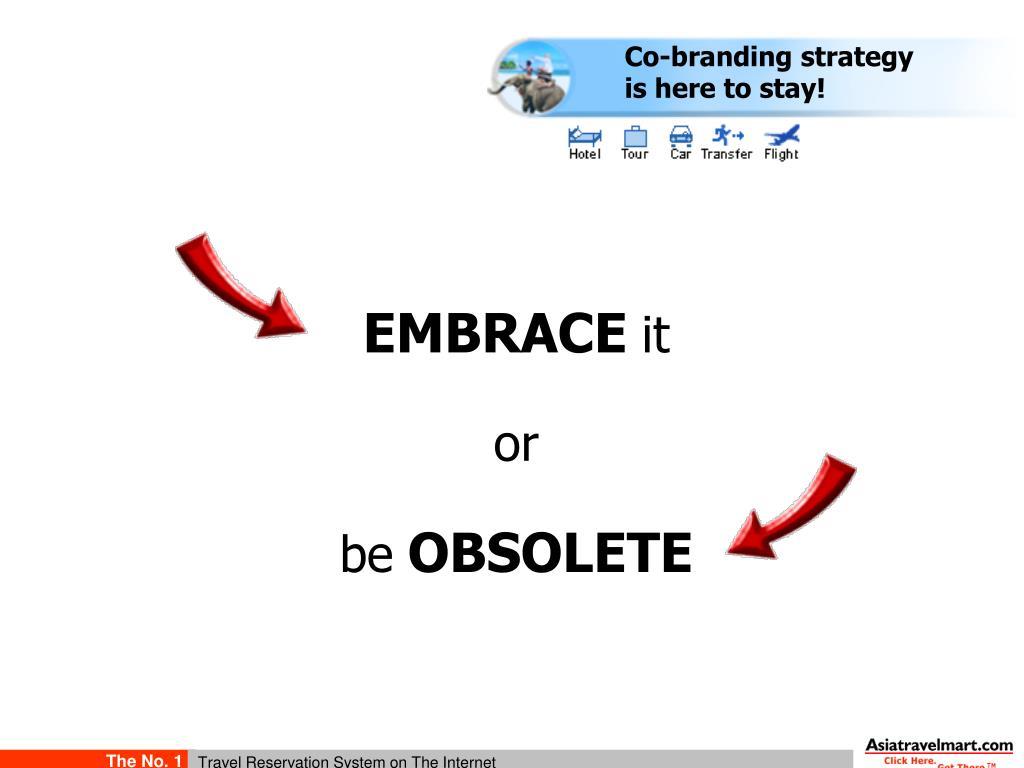 Co-branding strategy