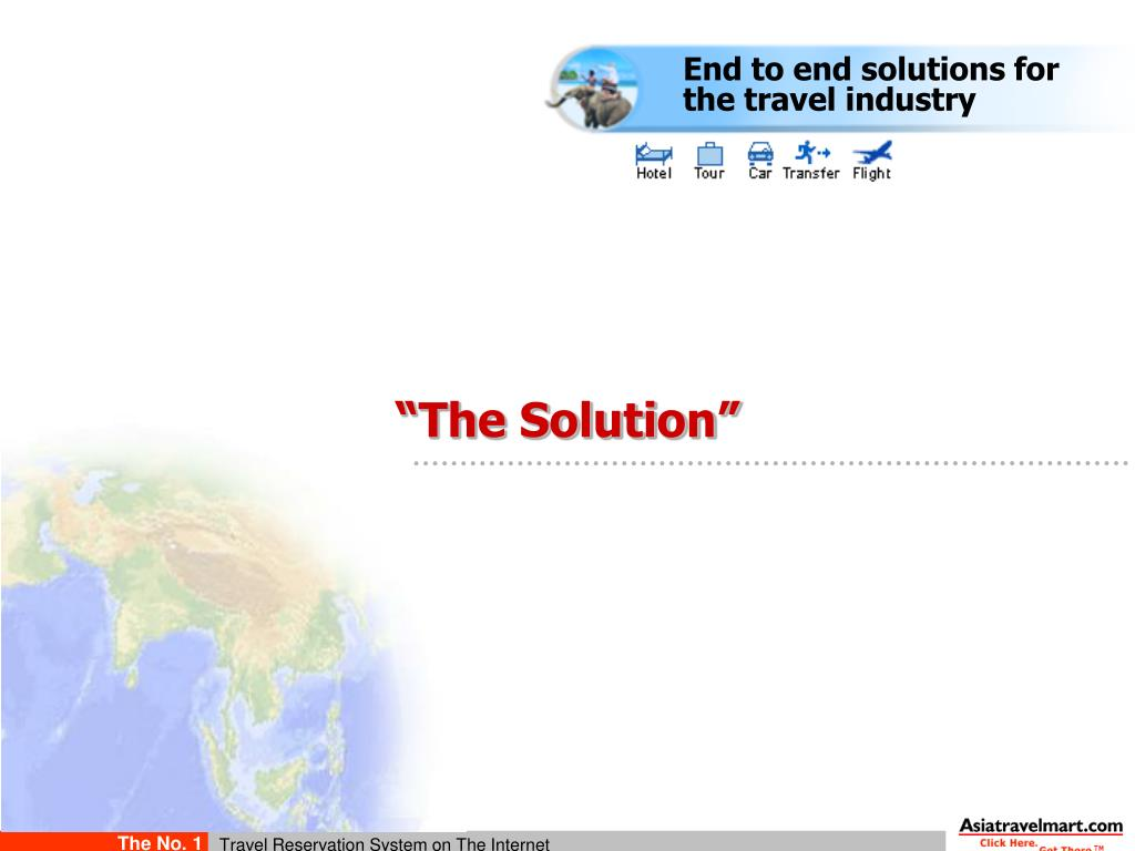 End to end solutions for the travel industry