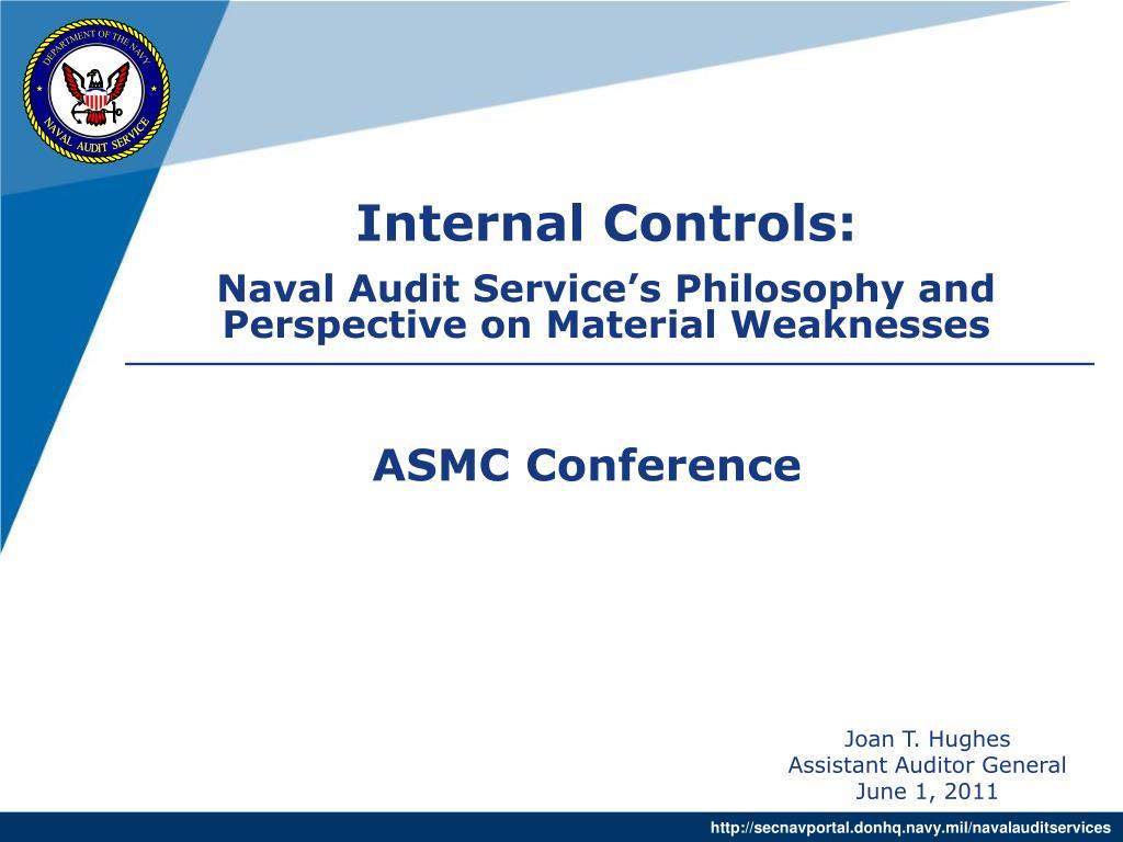 Internal Controls:
