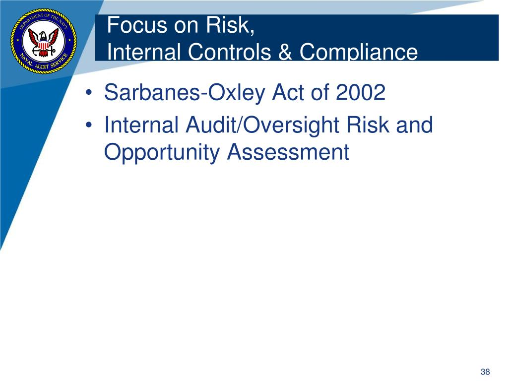 Focus on Risk,