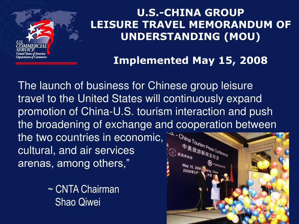 U.S.-CHINA GROUP
