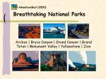 breathtaking national parks