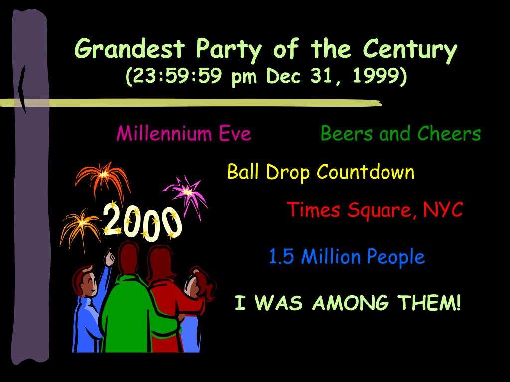 Grandest Party of the Century