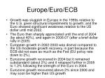 europe euro ecb