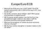 europe euro ecb9