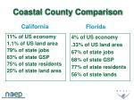 coastal county comparison