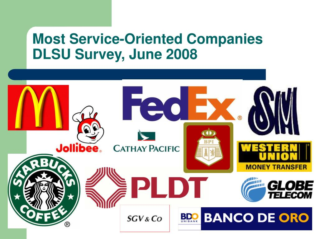 Most Service-Oriented Companies