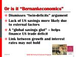 or is it bernankeconomics