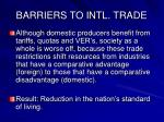 barriers to intl trade10