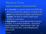 business cycles and economic fluctuations