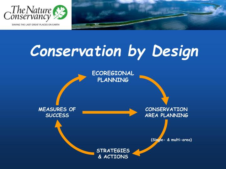 Conservation by Design
