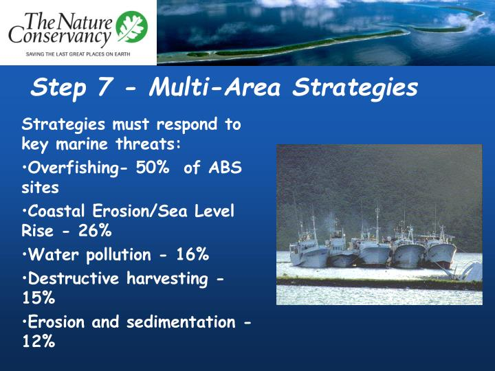 Step 7 - Multi-Area Strategies