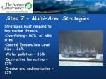 step 7 multi area strategies
