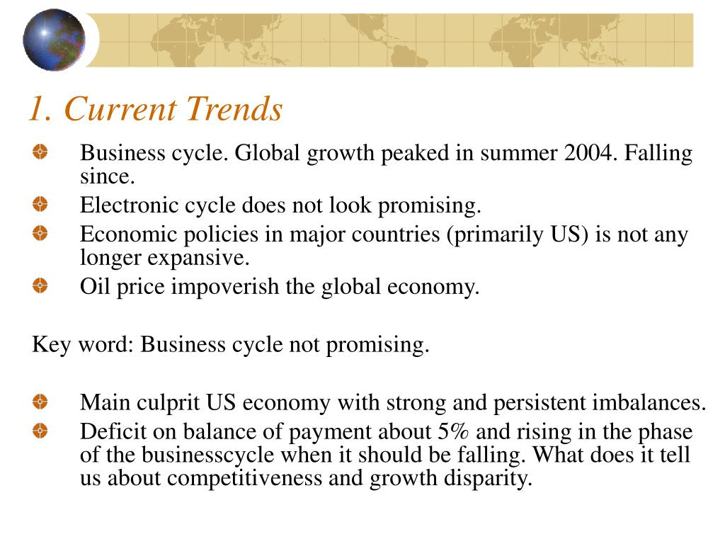 1. Current Trends