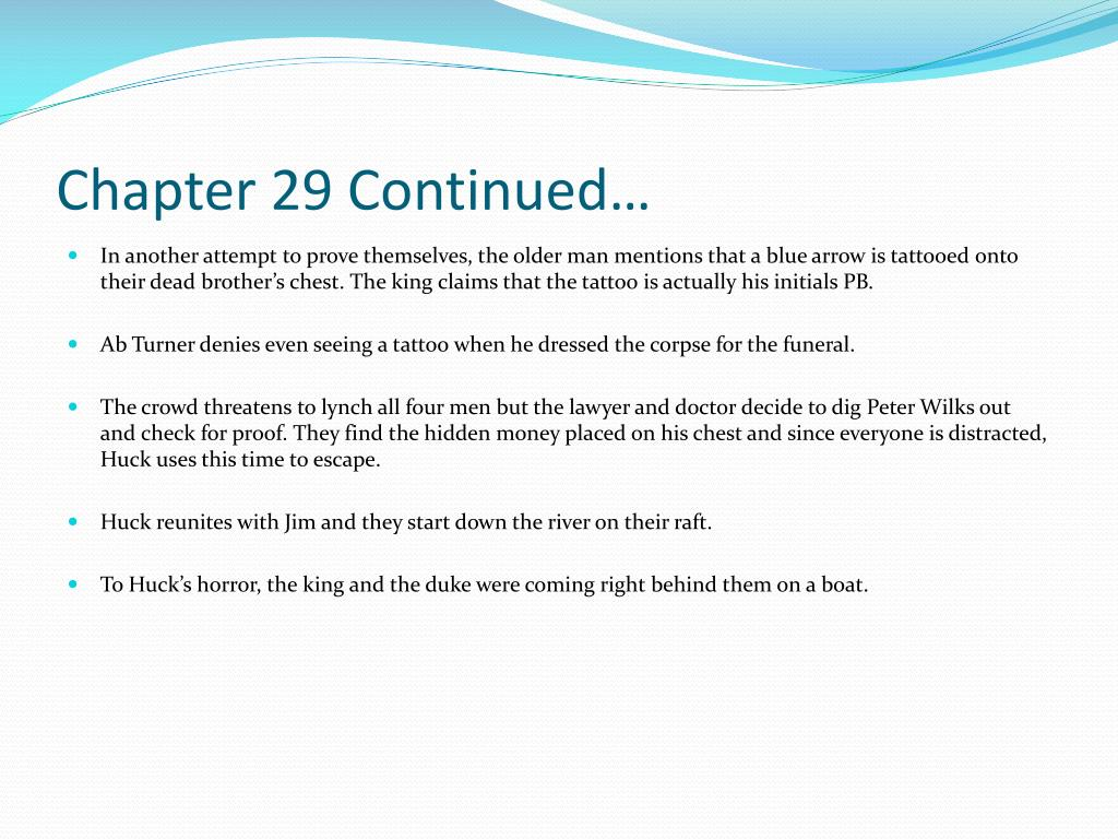Chapter 29 Continued…