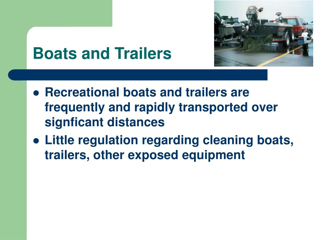 Boats and Trailers