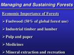 managing and sustaining forests26