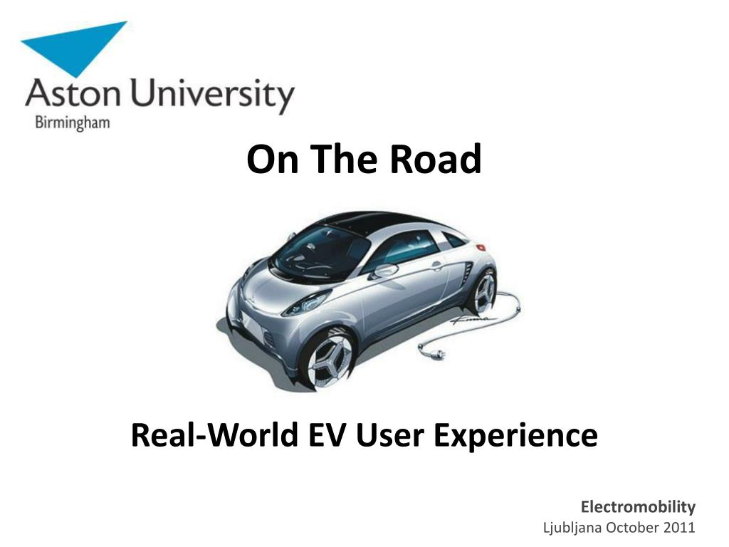 on the road real world ev user experience l.