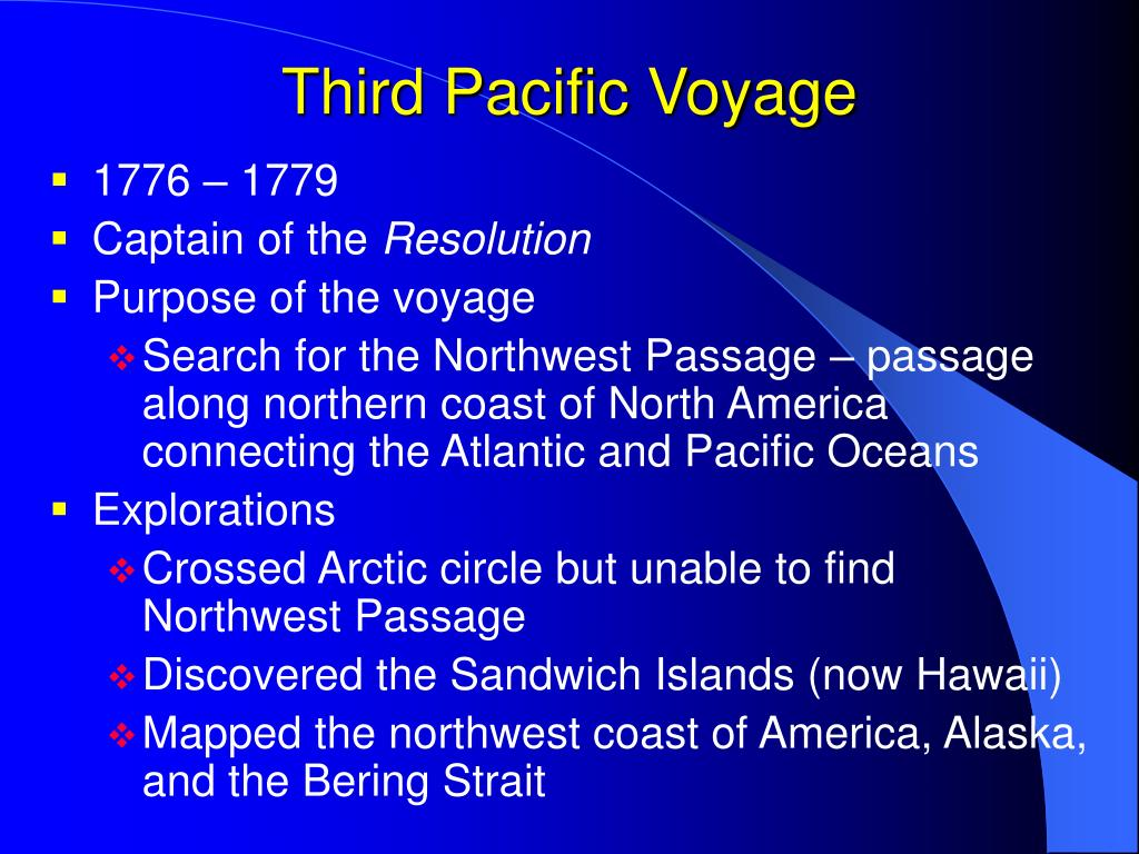 Third Pacific Voyage