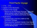 third pacific voyage
