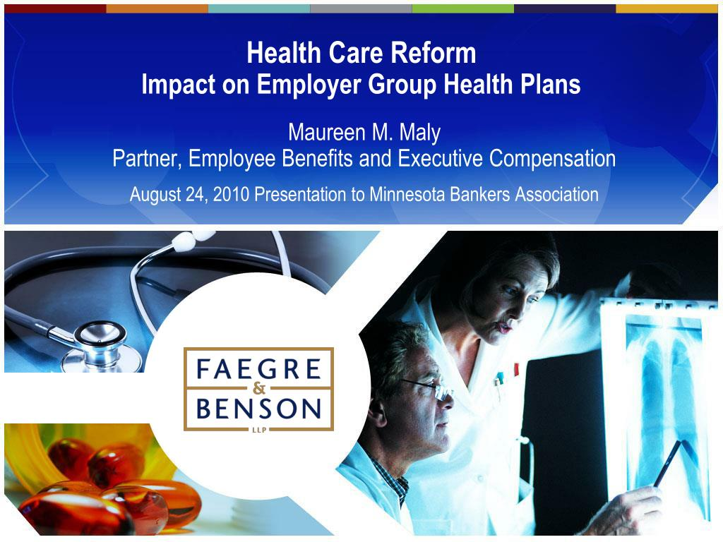 healthcare reform and its impact on A fresh start for health care reform there is the impact of the ppaca on the.