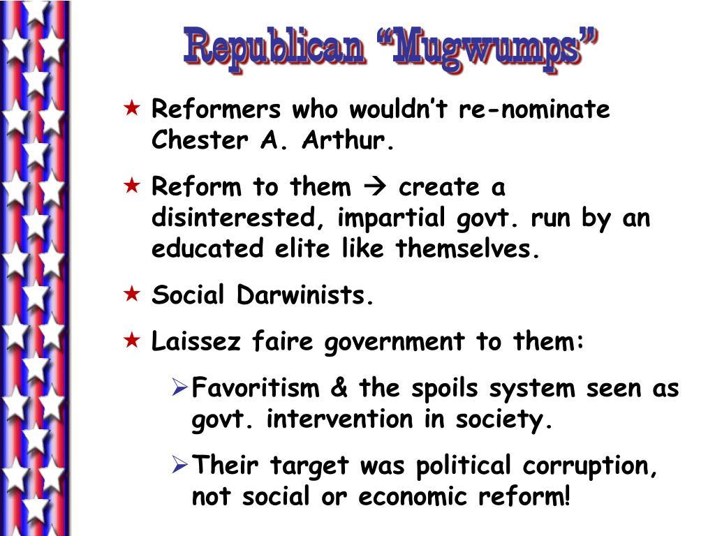 """Republican """"Mugwumps"""""""