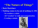 the nature of things3