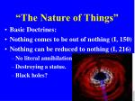 the nature of things4