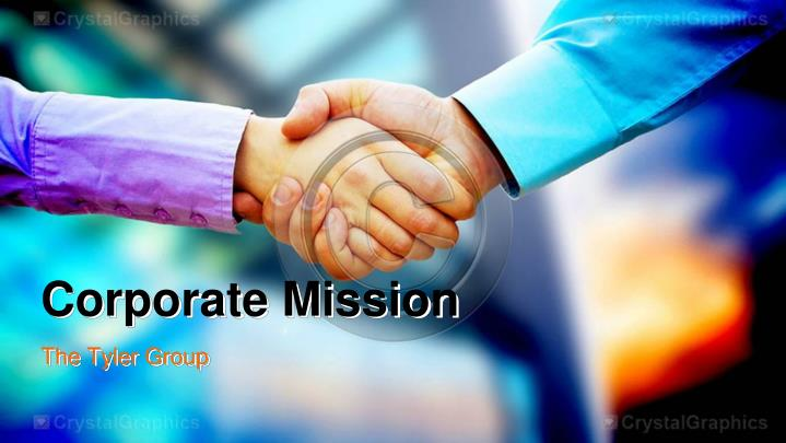 corporate mission n.