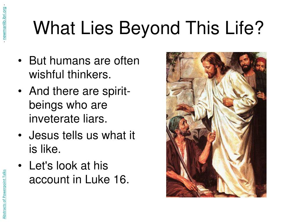 What Lies Beyond This Life?