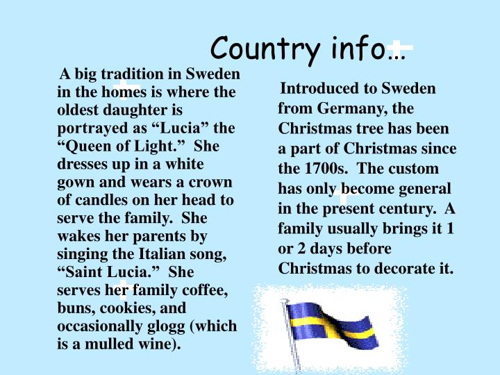 Country info