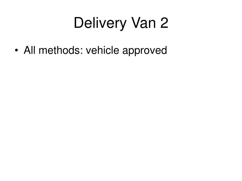 Delivery Van 2