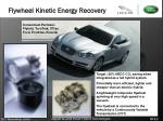 flywheel kinetic energy recovery