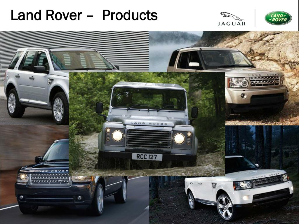 Land Rover –  Products