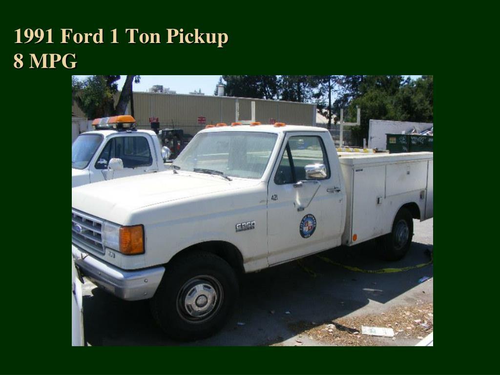 1991 Ford 1 Ton Pickup
